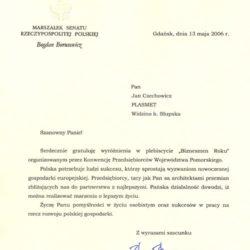Srebrny Niedźwiedź 2004 Lider Promocji Słupskiej Gospodarki