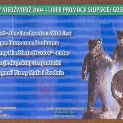"""Silver Bear 2004"" Category: middle and small companies"
