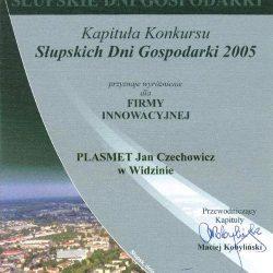 """""""Economic days in Słupsk 2005"""" - award for Jan Czechowicz"""