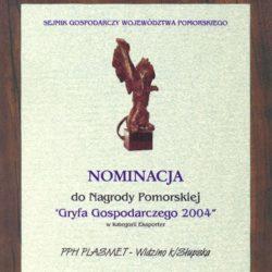 Nominierung zum Pommerschen Preis